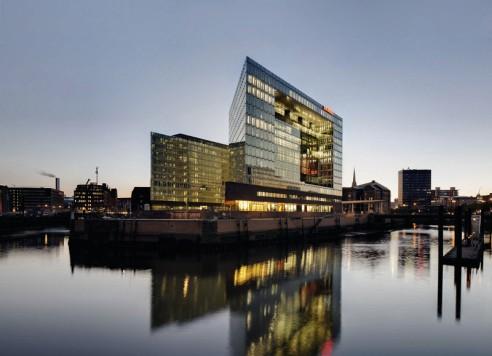 Das SPIEGEL-Verlagsgebäude erhält das HafenCity Nachhaltigkeitssiegel in Gold