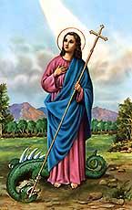 Virgen Santa Marta