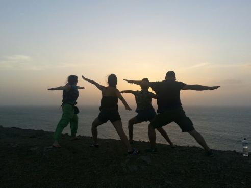 Yoga atardecer Guajira