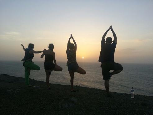 Yoga atradecer Guajira2